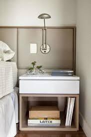 Small White Bedside Table 15 Small Wooden Bedside Table Designs In Modern Style