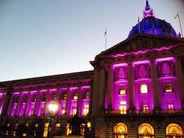 sf city hall lights purple lights for prince sf city hall funcheap