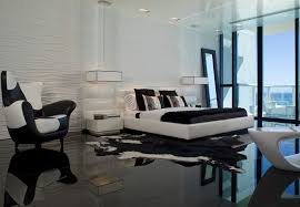 Timeless Black And White Bedrooms That Know How To Stand Out - Bedroom floor
