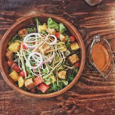 cuisine vegetalienne เทมเป สล ด เทมเป ค อถ วชน ดน งค ะ ท เป นแหล งโปรต นท ด ให มา