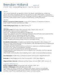 Resume For Lifeguard Resume Design U2014 Emily Carter Schildt