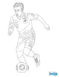 coloriage du joueur de foot matthieu valbuena à imprimer
