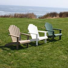 Adirondack Outdoor Furniture Hampton Adirondack Chair 14 Colors Malibu Outdoor Living Dfohome