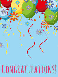 congratulatory cards balloon flower congratulations card birthday greeting cards