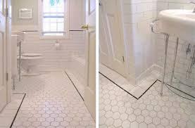 Bathroom Floor Tile Ideas Vintage Bathroom Floor Tile Visionexchange Co