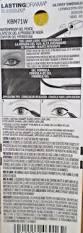 maybelline lasting drama waterproof gel pencil eyeliner new sealed