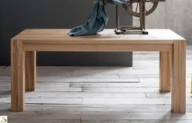 tavoli da sala da pranzo moderni tavolo in legno massello arredo design