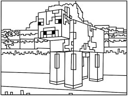minecraft coloring pages craft minecraft stuff