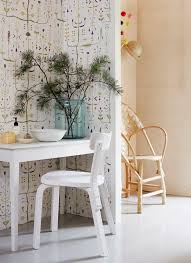 could a scandinavian style inspire your study space try mixing
