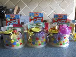 Ice Cream Gift Basket Fun Easter Gifts