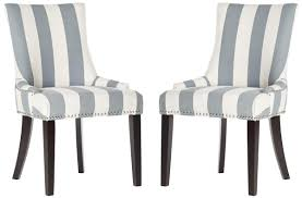 Black And White Striped Chair by Mcr4709at Set2 Dining Chairs Furniture By Safavieh