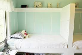 Bedroom Designs For Two Twin Beds Happy At Home Built In Twin Beds