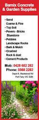 bamix concrete garden supplies u0026 equipment depot 9 blackwood