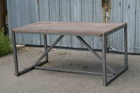 combine 9 industrial furniture u2013 modern industrial dining table