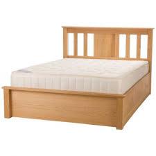 Oak Ottoman Bed Terran Oak Ottoman Bed Frame