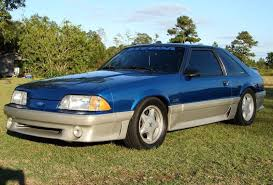 1992 ford mustang ultra blue 1992 ford mustang gt steeda hatchback mustangattitude