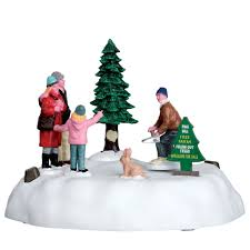 lemax village collection christmas village accessory pine hill