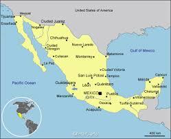 map of mexico cities mexico map map of mexico