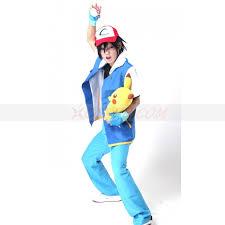 Ash Ketchum Halloween Costume Ash Pokemon Costume Ash Ketchum Costume