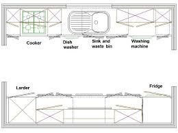 L Shaped Kitchen Floor Plans by Best 25 Galley Kitchen Layouts Ideas On Pinterest Galley