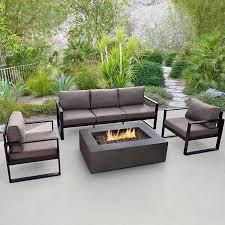 Wayfair Patio Dining Sets - amazon com real flame 9621 baltic 3 seat sofa patio lawn u0026 garden