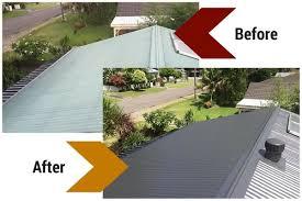roof repairs restoration and painting sunshine coast brisbane