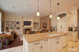 Open Concept Kitchen Living Room Small Space The Open Concept Kitchens Continue To Allow A Seamless Transition