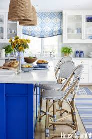 nancy meyers kitchen blue and white forever