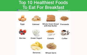 top 10 healthiest foods to eat for breakfast the fitness cafe