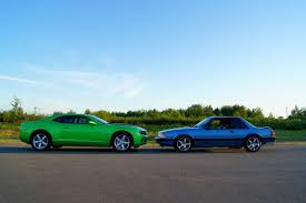 mustang size 2010 camaro and 1990 mustang size comparison ford mustang forum