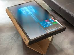the kineti offers a new look at a windows 10 living room pc design