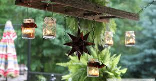 Pottery Barn Lantern Chandelier How To Create A Jar Patio Chandelier Hometalk