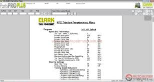 clark forklift parts pro plus v444 03 2017 full instruction