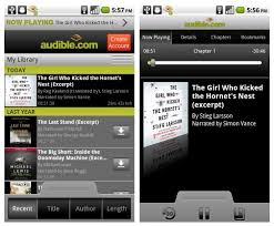 audible for android audible launches android audiobook app mobiputing