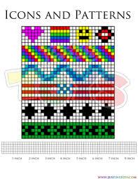 rainbow loom name bracelet template rainbow loom