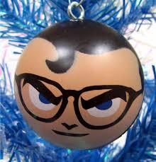 amazon com dc comics 6 piece holiday christmas ornament set