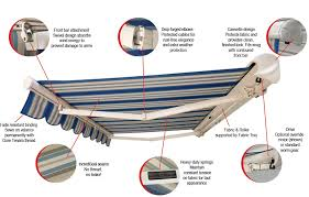 Motor For Retractable Awning Affordable Retractable Full Cassette Awning Globe Canvas