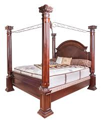 Canopy Bedroom Sets 6pc King Canopy Bedroom Set Bel Furniture Houston U0026 San Antonio