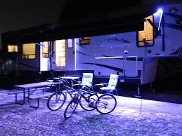 rv awning lights exterior rv porch light motion sensor awning led installation best lights