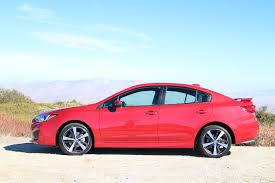 subaru 2017 subaru impreza first drive of awd compact sedan hatch