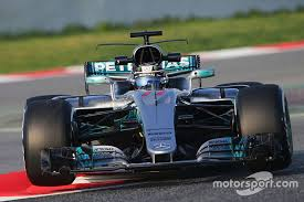 mercedes barcelona gallery f1 2017 cars on track in barcelona test