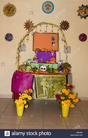 altar decorations oaxaca mexico day of the dead altar decorations in memory of