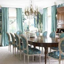 Aqua Dining Room Upholstered Tufted Back Aqua Dining Chairs With Glass Dining Table