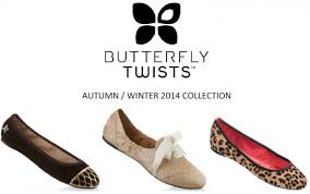 butterfly twists butterfly twists aw14 collection footwear association