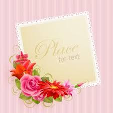 Greeting Card Designs Free Download Flower Greeting Cards 03 Vector Free Vectors Ui Download