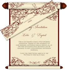 wedding cards design email wedding card royal scroll design 29 luxury indian