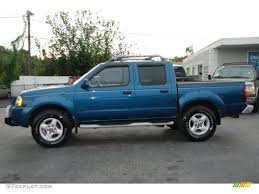 2002 nissan frontier lifted electric blue metallic 2002 nissan frontier se crew cab exterior