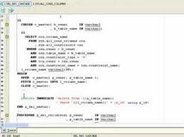 tutorial oracle stored procedure how to edit a stored procedure in oracle database youtube