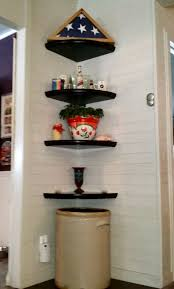 Living Room Corner Shelf by Mobile Home Living Room Remodel The Finale My Mobile Home Makeover