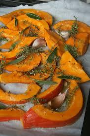 cuisiner le potimarron au four potimarron rôti au four culinaire by minouchka